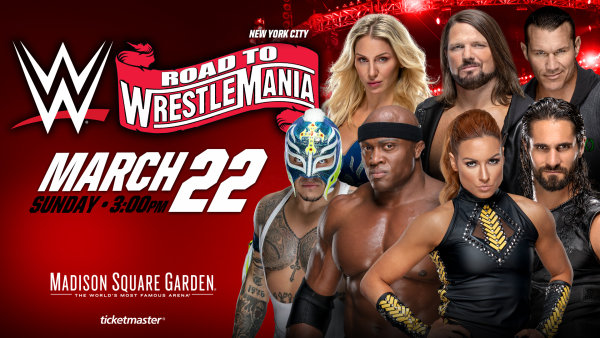 None - Win Tickets to  WWE's Road to Wrestlemania Tour