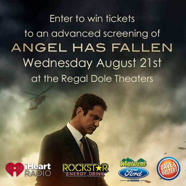 None - Enter to win tix to Angel Has Fallen Advanced Screening
