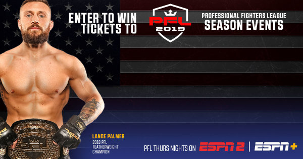 None - Enter To Win Tickets To The Professional Fighters League!