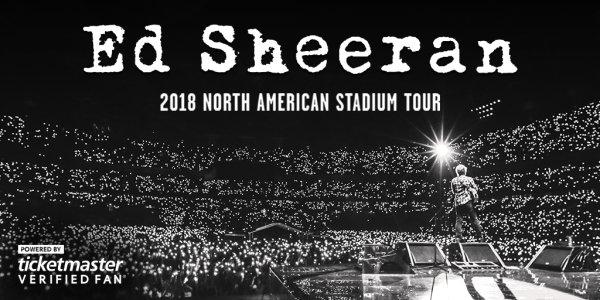 None - Win Ed Sheeran Tickets