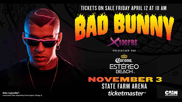None -  Win Tickets to Bad Bunny!