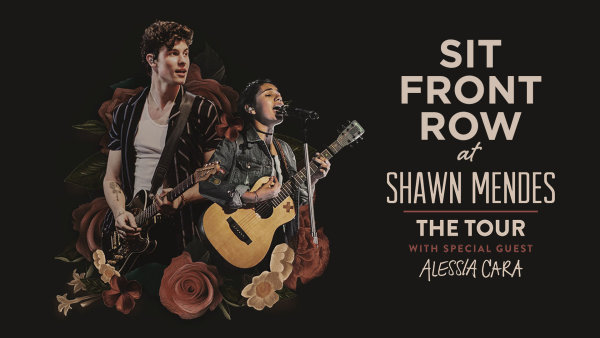 None -  See Shawn Mendes FRONT ROW on July 31
