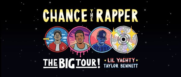 None - WIN TICKETS TO Chance The Rapper The Big Tour !