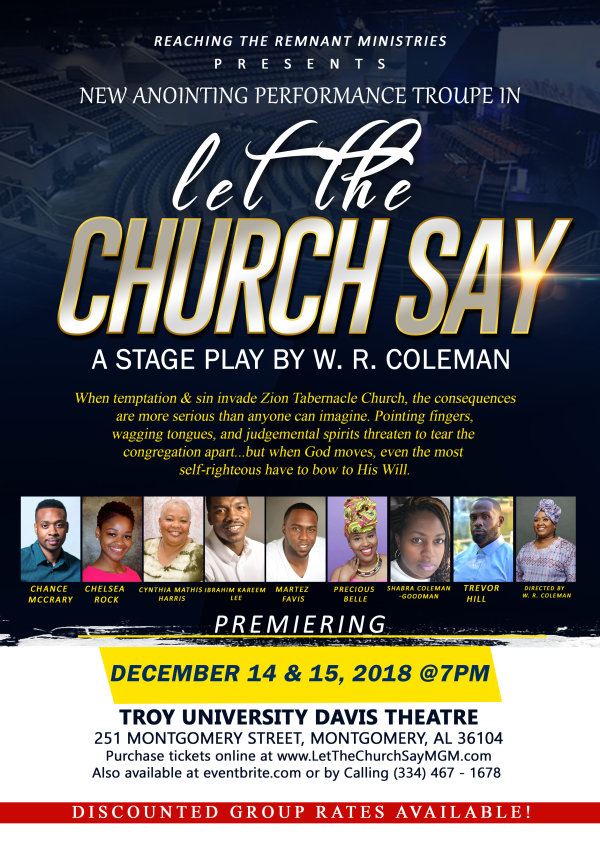 None - Let the Church Say Stage Play