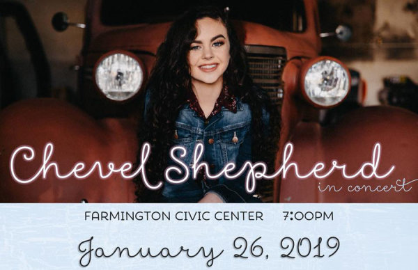 None - Win Tickets to See Chevel Shepherd