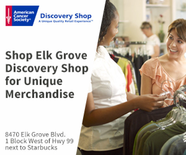 None - Win a $100 Discovery Shops Elk Grove Shopping Spree!