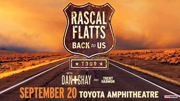 Rascal Flatts Back 2 US Tour!