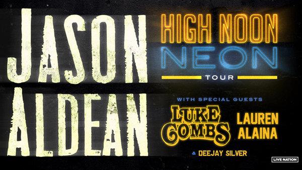 Jason Aldean High Noon Neon Tour!