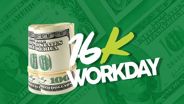 None - 16K Workday Giveaway!