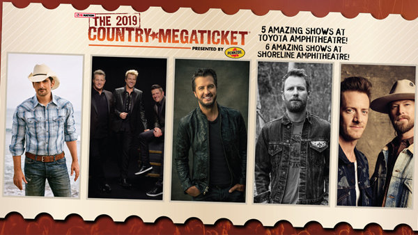 None - 2019 Country Mega Ticket!