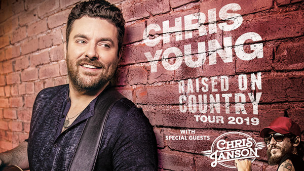 None - Chris Young's Raised On Country Tour 2019!