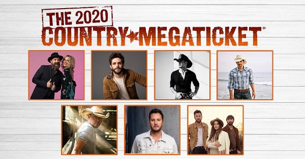 None - Win The 2020 Country Mega Ticket!