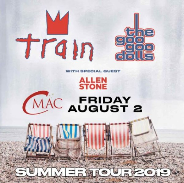 None - Enter to win tickets to Train and The Goo Goo Dolls!