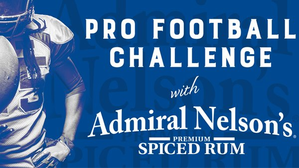 None -  Pro Football Challenge with Admiral Nelson's Rum