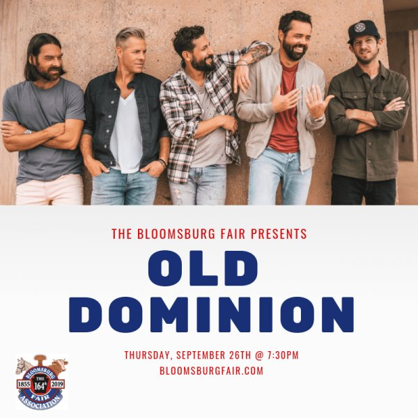 None - Old Dominion at the Bloomsburg Fair!