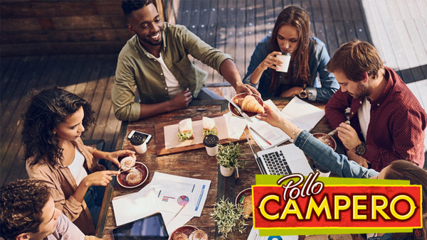 None - Win Lunch From Pollo Campero!