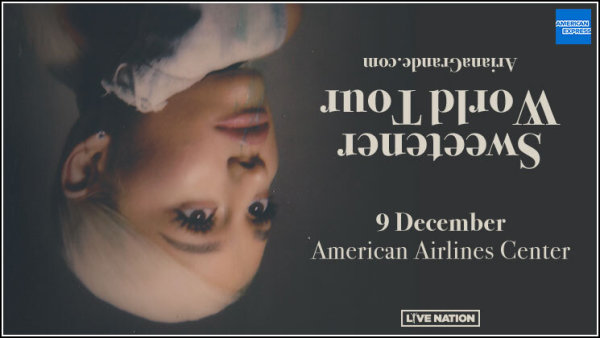 None -  Listen Thursday To Win Tickets To Ariana Grande's Sweetener World Tour!