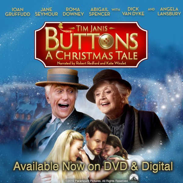 None - Win Your Copy of Buttons: A Christmas Tale!