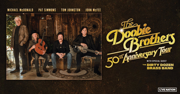 None - The Doobie Brothers 50th Anniversary Tour