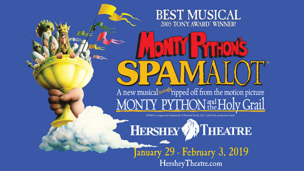 None - SPAMALOT GIVEAWAY