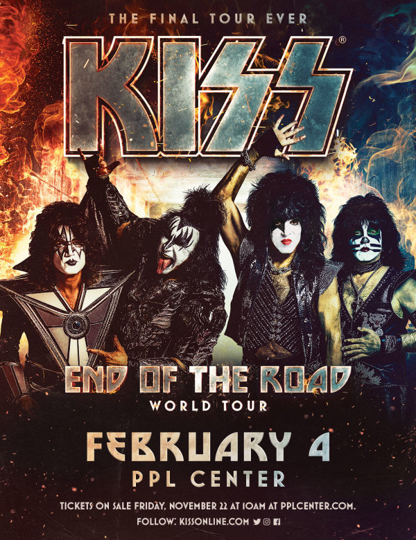 None - Win KISS Tickets!