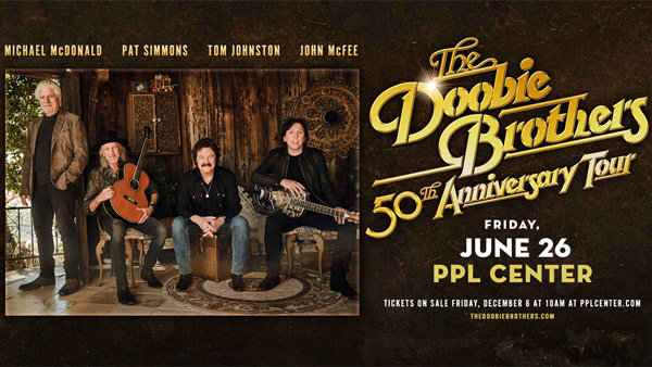 None - DOOBIE BROTHERS 50TH ANNIVERSARY TOUR!