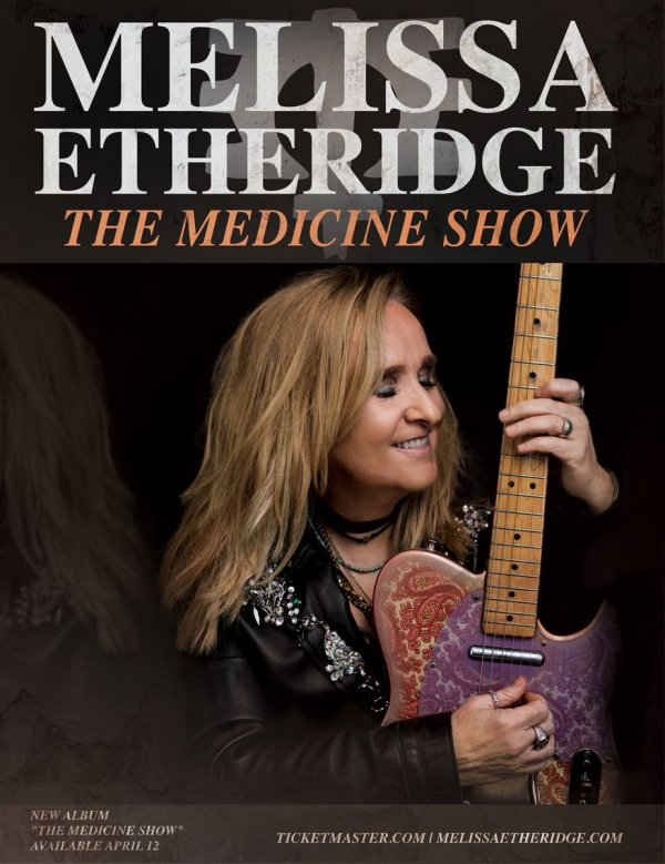 None - MELISSA ETHERIDGE AT SANTANDER ARENA