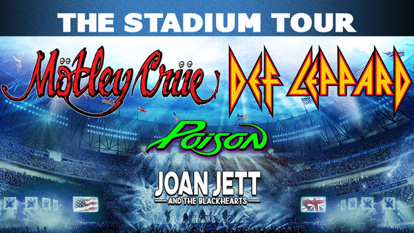 None - MÖTLEY CRÜE / DEF LEPPARD with POISON / JOAN JETT & THE BLACKHEARTS