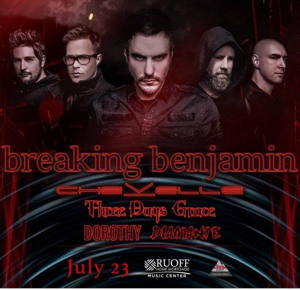 None - Win Breaking Benjamin Tickets