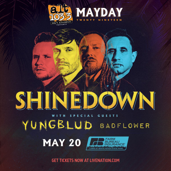 None - Win Tickets to MAY DAY with Shinedown