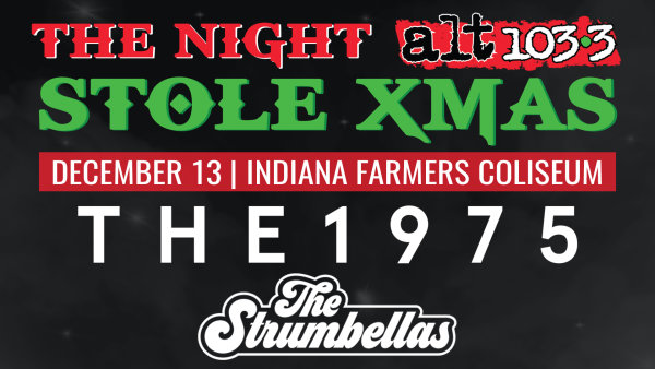 None - Win Tickets to the Night Alt 1033 Stole Xmas!
