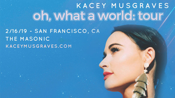 None -  Win tickets to see Kacey Musgraves at The Masonic!