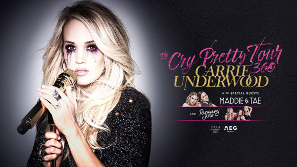 None - Win tickets to see Carrie Underwood at Oracle Arena!
