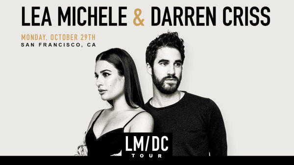 None - Win tickets to see Lea Michele & Darren Criss at The Masonic!