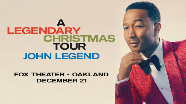None - Win tickets to see John Legend: A Legendary Christmas at The Fox Theater!