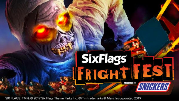 None - Winning Words w/ Lisa Foxx: Tickets To Six Flags Fright Fest!
