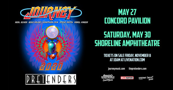 None - Win Tickets To See Journey & The Pretenders At Concord Pavilion!