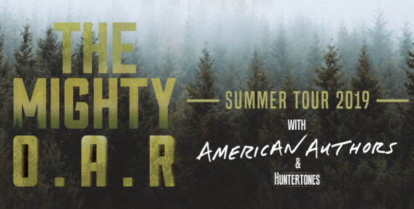 None - Win tickets to see O.A.R. in Charlotte!