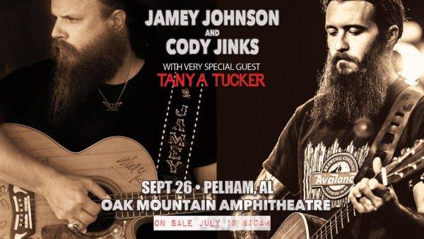 None - Jamey Johnson & Cody Jinks | Oak Mountain Amp