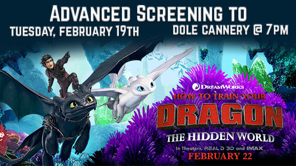 None - Enter to Win Family 4 Pak to Advanced Screening How to Train Your Dragon