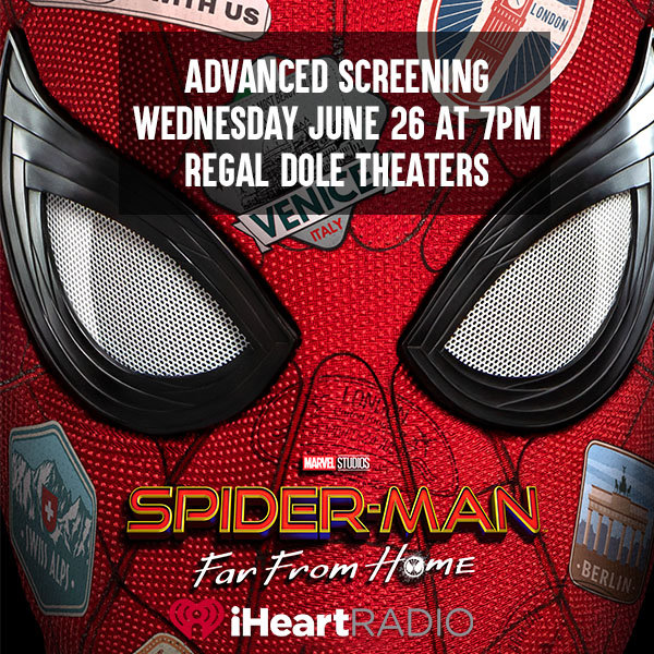 None - Enter to win tix to Spider Man Far From Home Advanced Screening