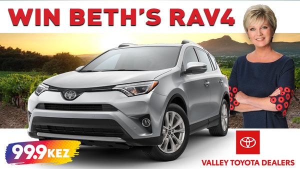 None - Win Beth's RAV4
