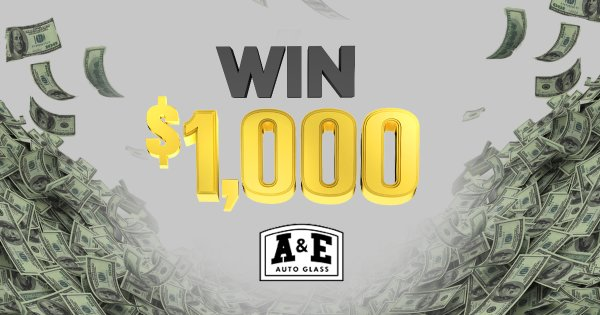 None -  $1,000 an Hour Work Day Payday Presented By A&E Auto Glass