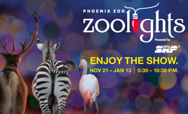 None - Win Tickets to Zoolights at the Phoenix Zoo!