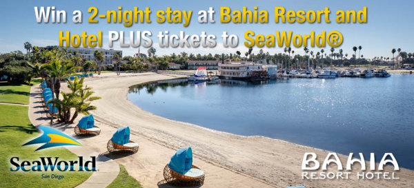 None - Family Beach Getaway to Bahia Resort & SeaWorld!