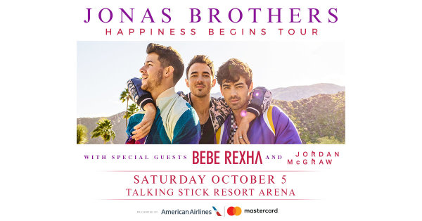 None -  Win a pair of tickets to see The Jonas Brothers!