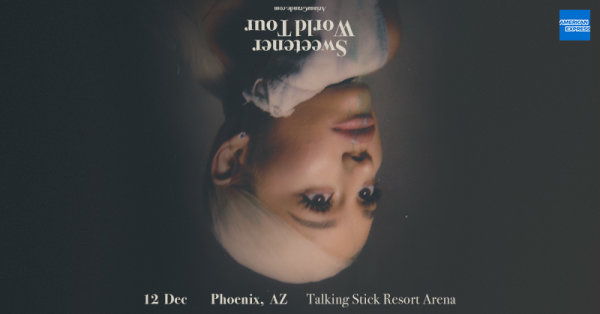 None - Win Tickets to see Ariana Grande