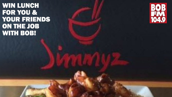 None - WIN Lunch from Jimmy'z Hibachi