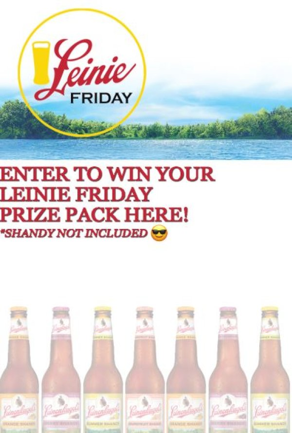 None - Enter to win a Leinie Friday prize pack to help you get your weekend started off right!