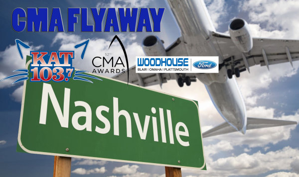 None - Kat 103.7 and Woodhouse Ford want to send you to this year's CMA Awards in Nashville!